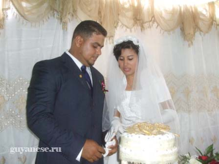 Black guyanese wedding